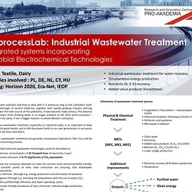 BioprocessLab: Industrial Wastewater Treatment - Integrated systems incorporating Microbial Electrochemical Technologies